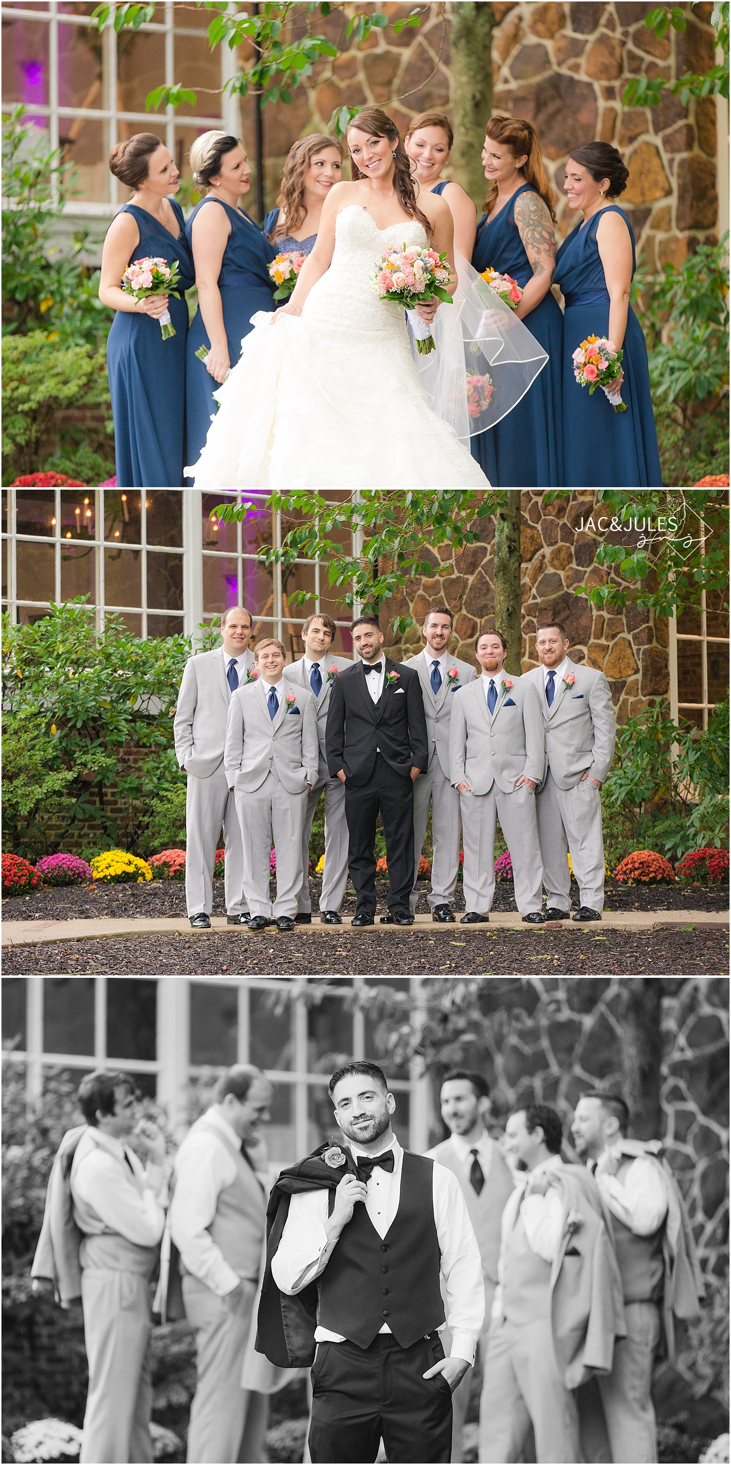 jacnjules photograph a wedding in Smithville, NJ