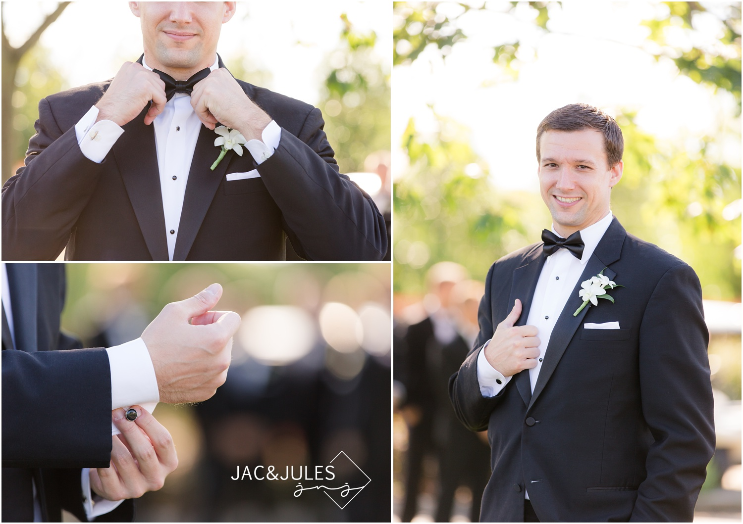 groom portraits at eagle oaks golf and country club in wall, nj.