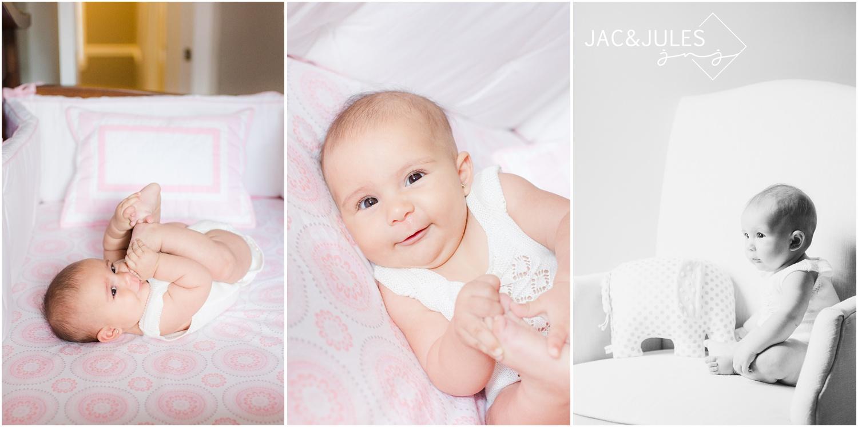 baby in nursery in NJ.