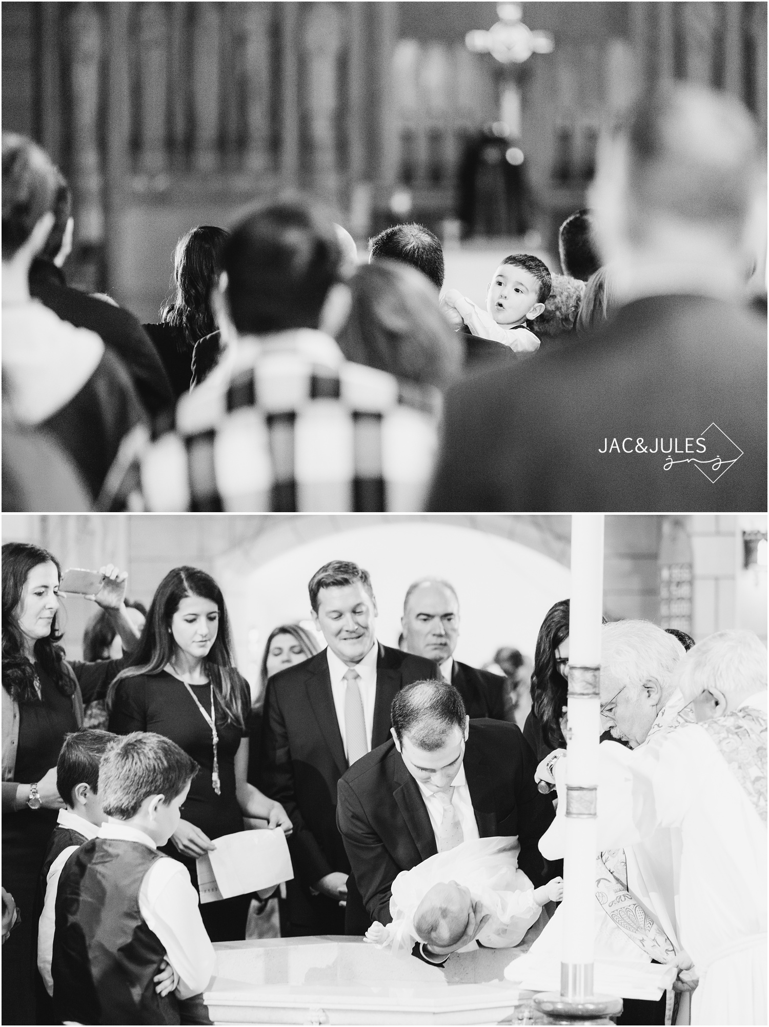 Baptism at St. Stephen's Church in Kearny, NJ.