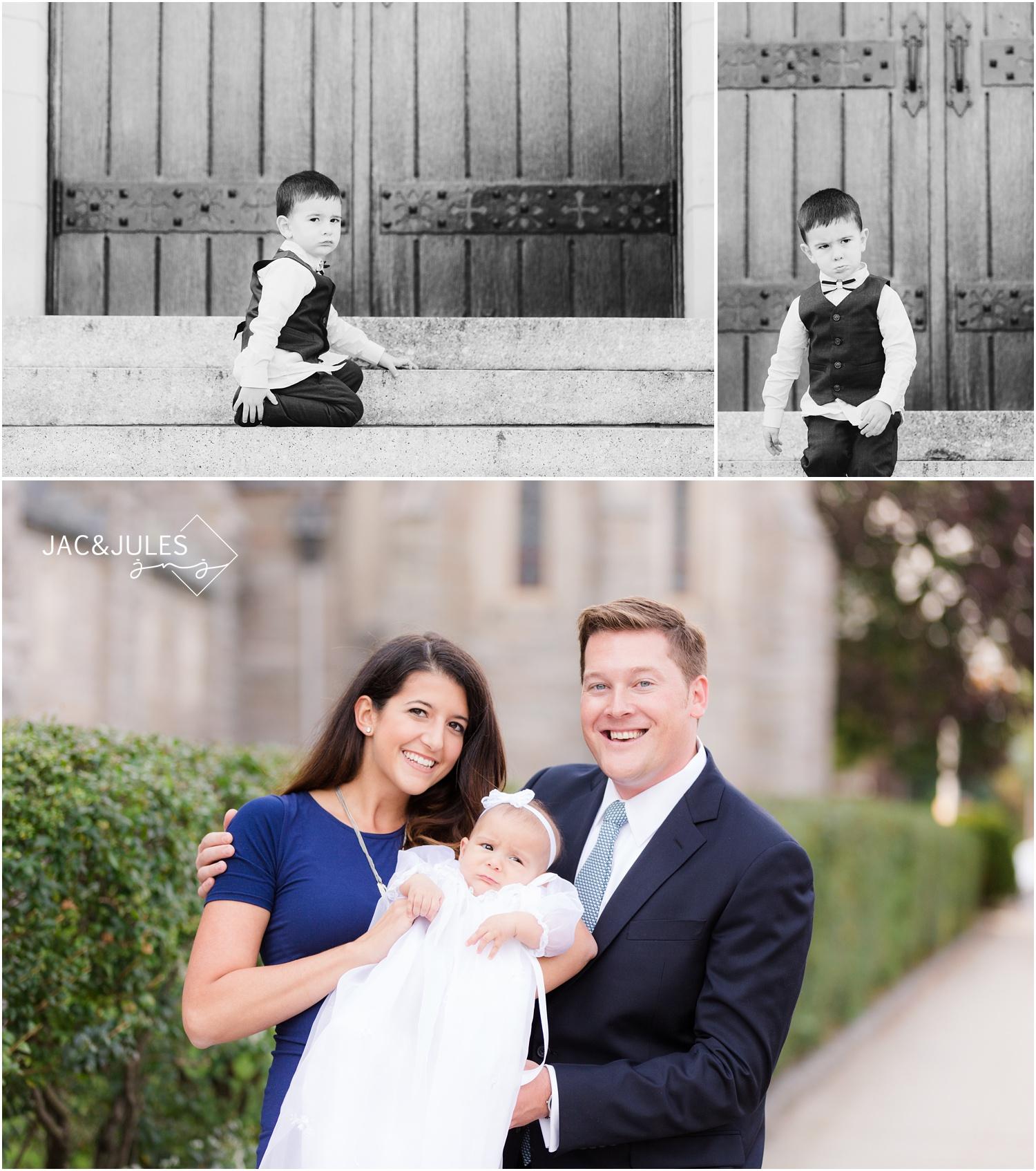 Family photos in Kearny, NJ.