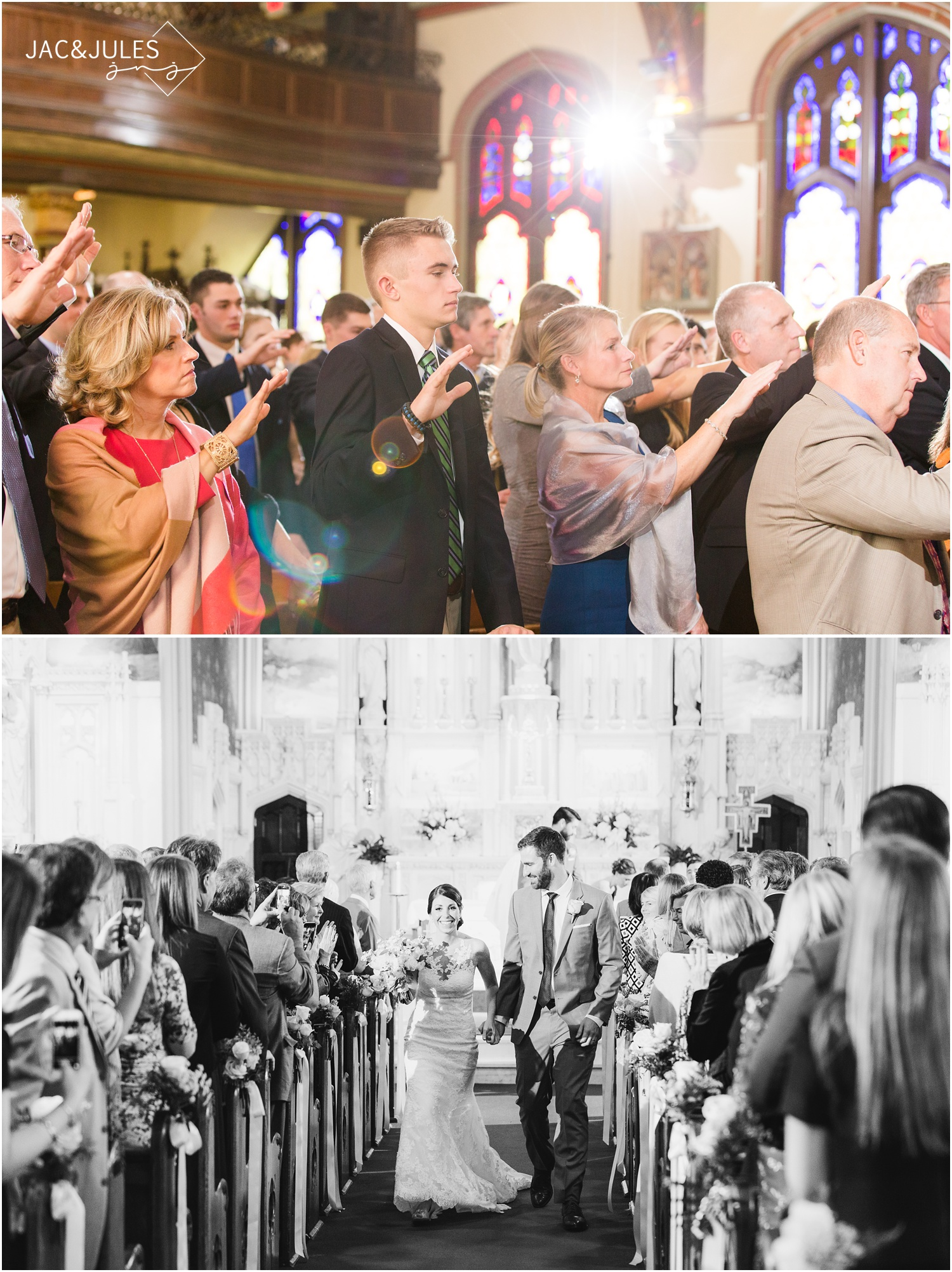 St. Peter's Church Wedding in Point Pleasant, NJ.
