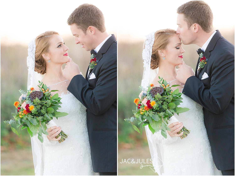 jacnjules photograph fall wedding at Divine Park in Spring Lake, NJ