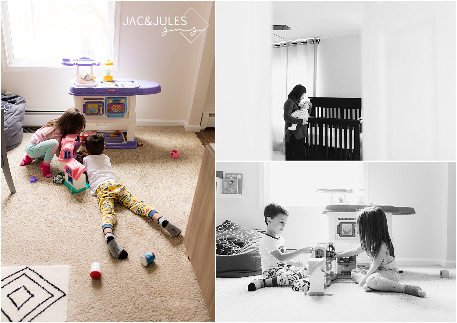 jacnjules documents a family in their home in NJ