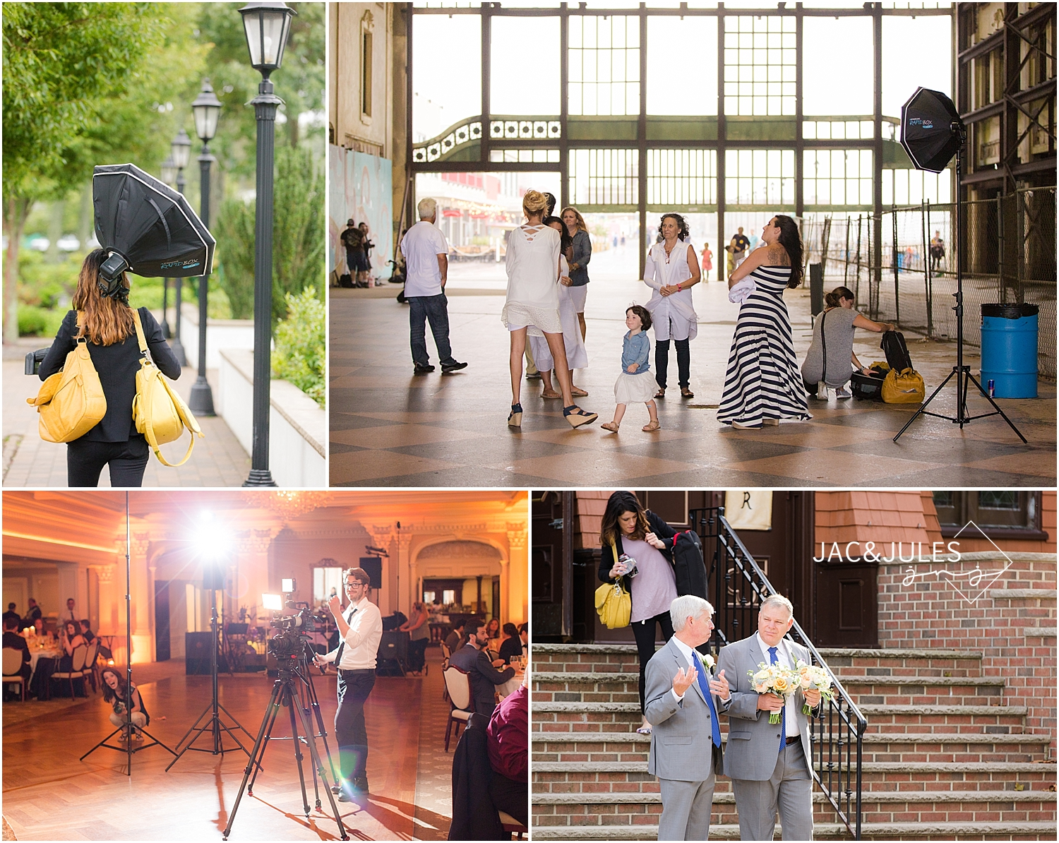 jacnjules goes behind the scenes photographing families and weddings in NJ