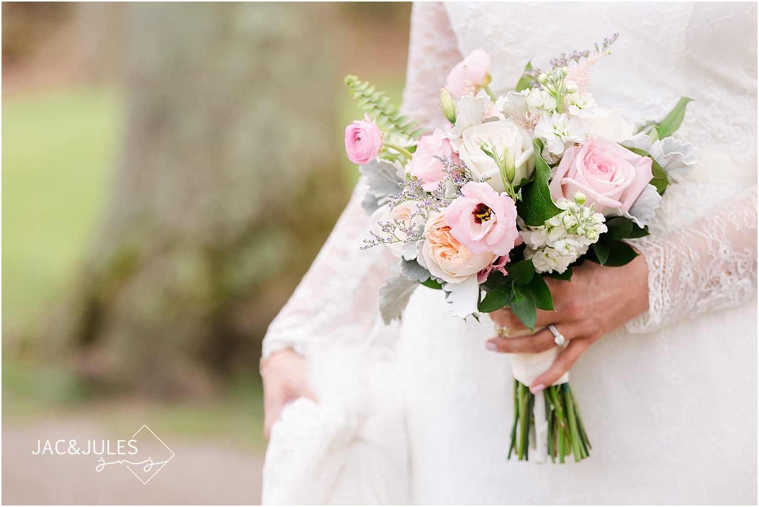 jacnjules photographs wedding bouquet from Flowers by Melinda in Lavallette, NJ