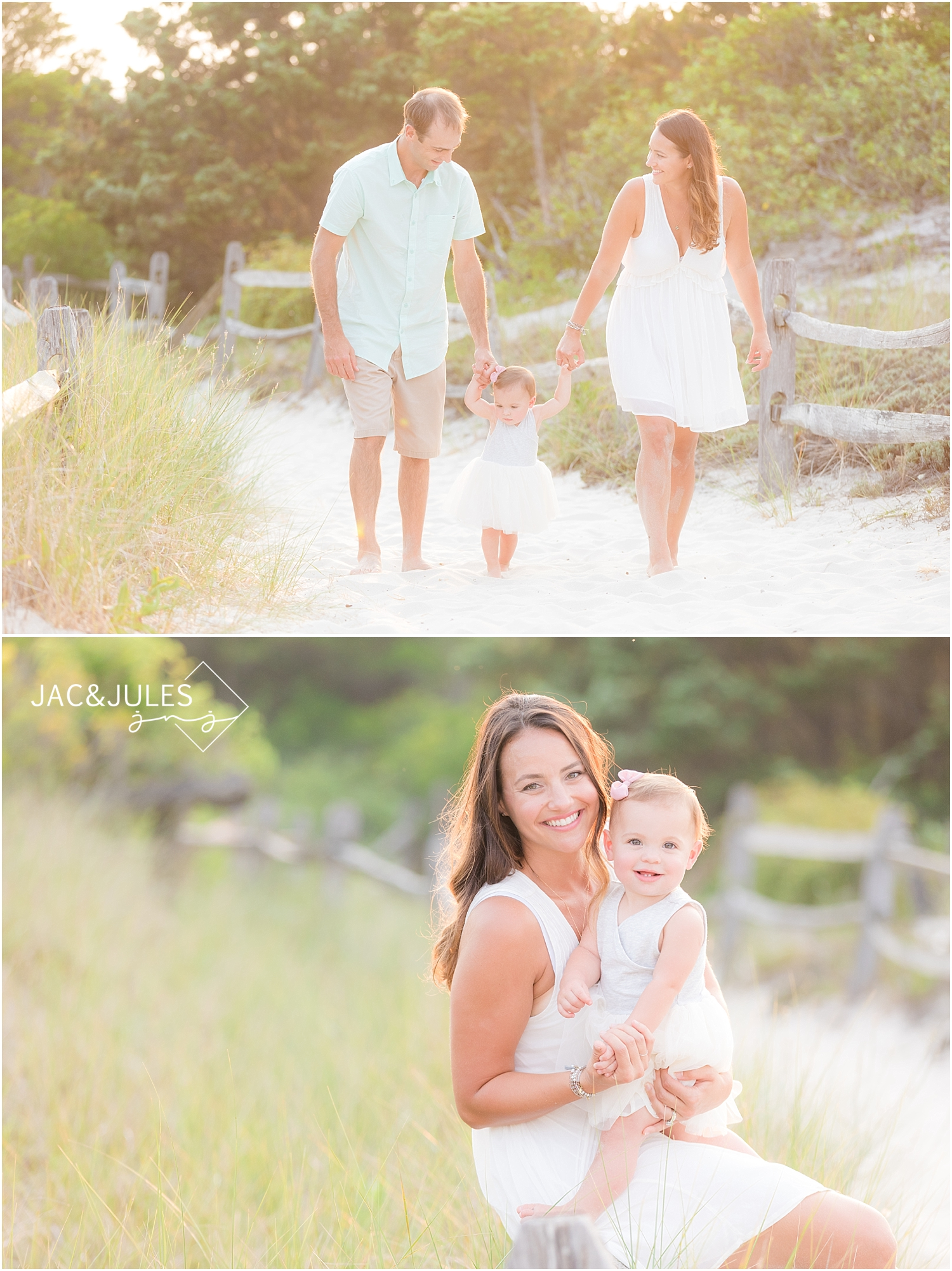 candid family photos at island beach state park