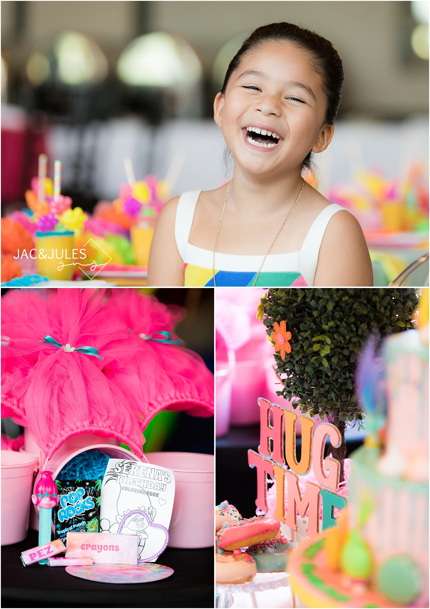 trolls themed party favors
