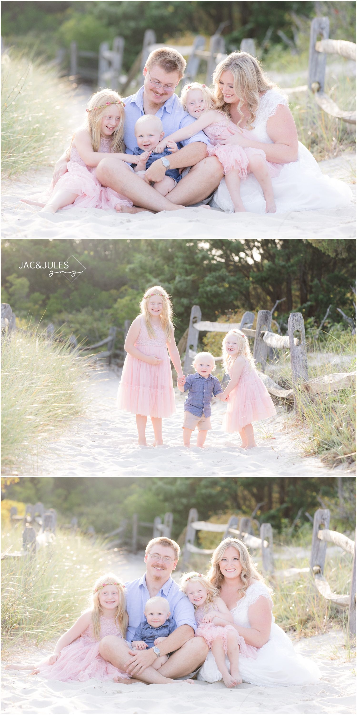 Sweet moments from a Family photo shoot in Seaside Park, nj.