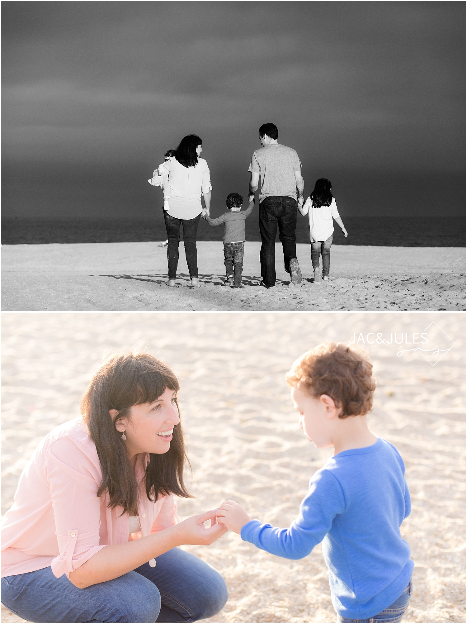 jacnjules photograph a family on the beach in point pleasant nj