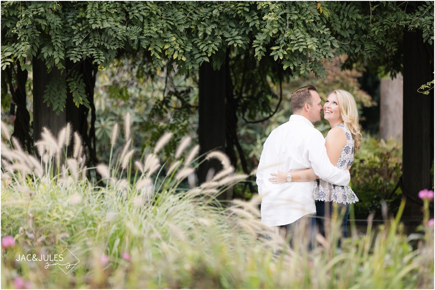Awesome Engagement photos at Van Vleck House and Gardens in Montclair, NJ.