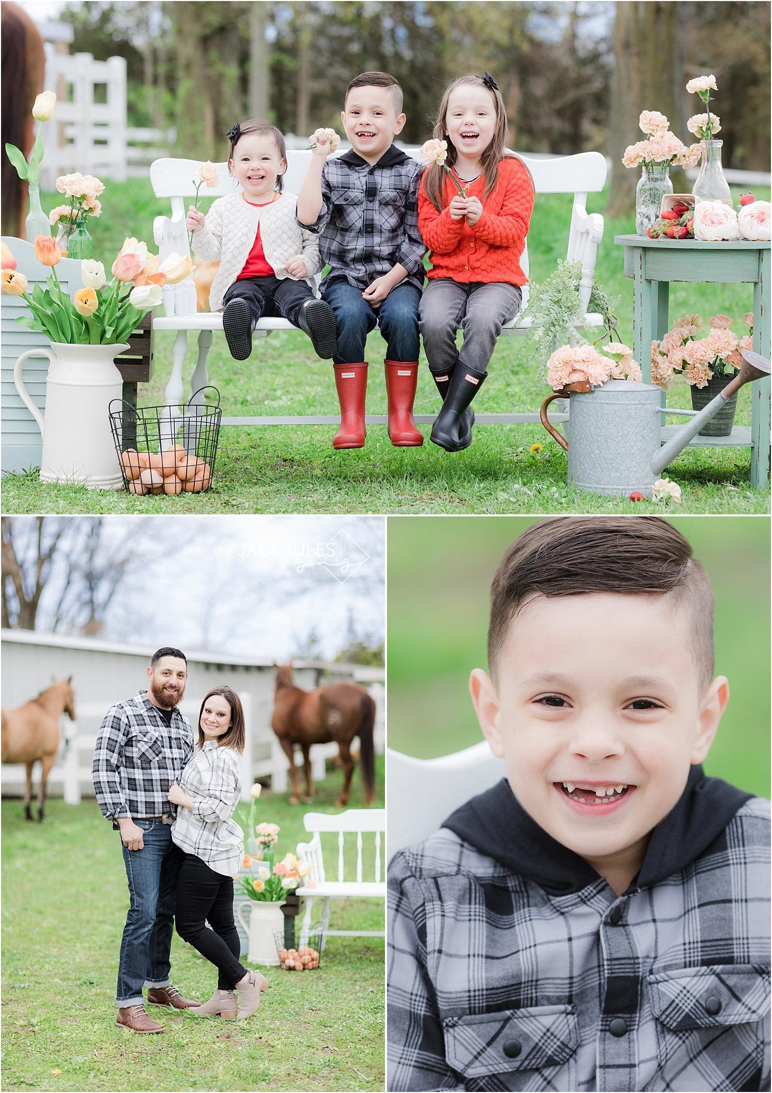 photos of kids at first go farm in cream ridge nj