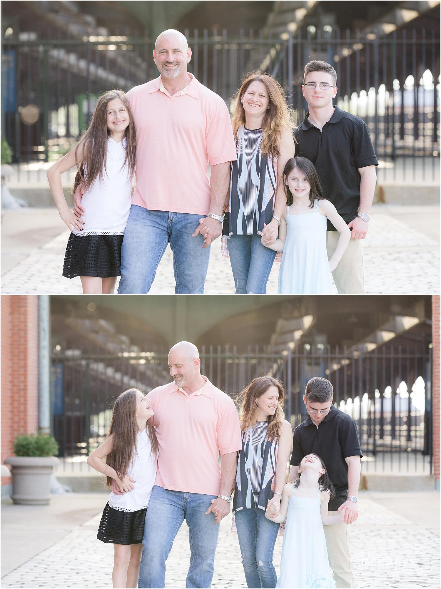 fun family photos at liberty state park nj