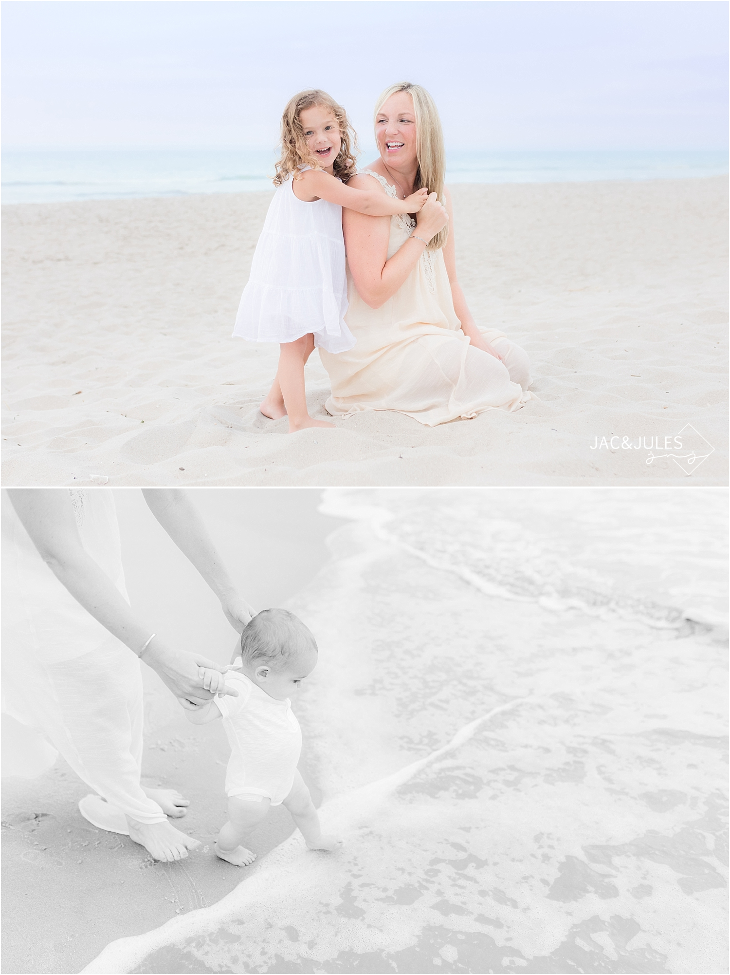 mantoloking family beach portraits