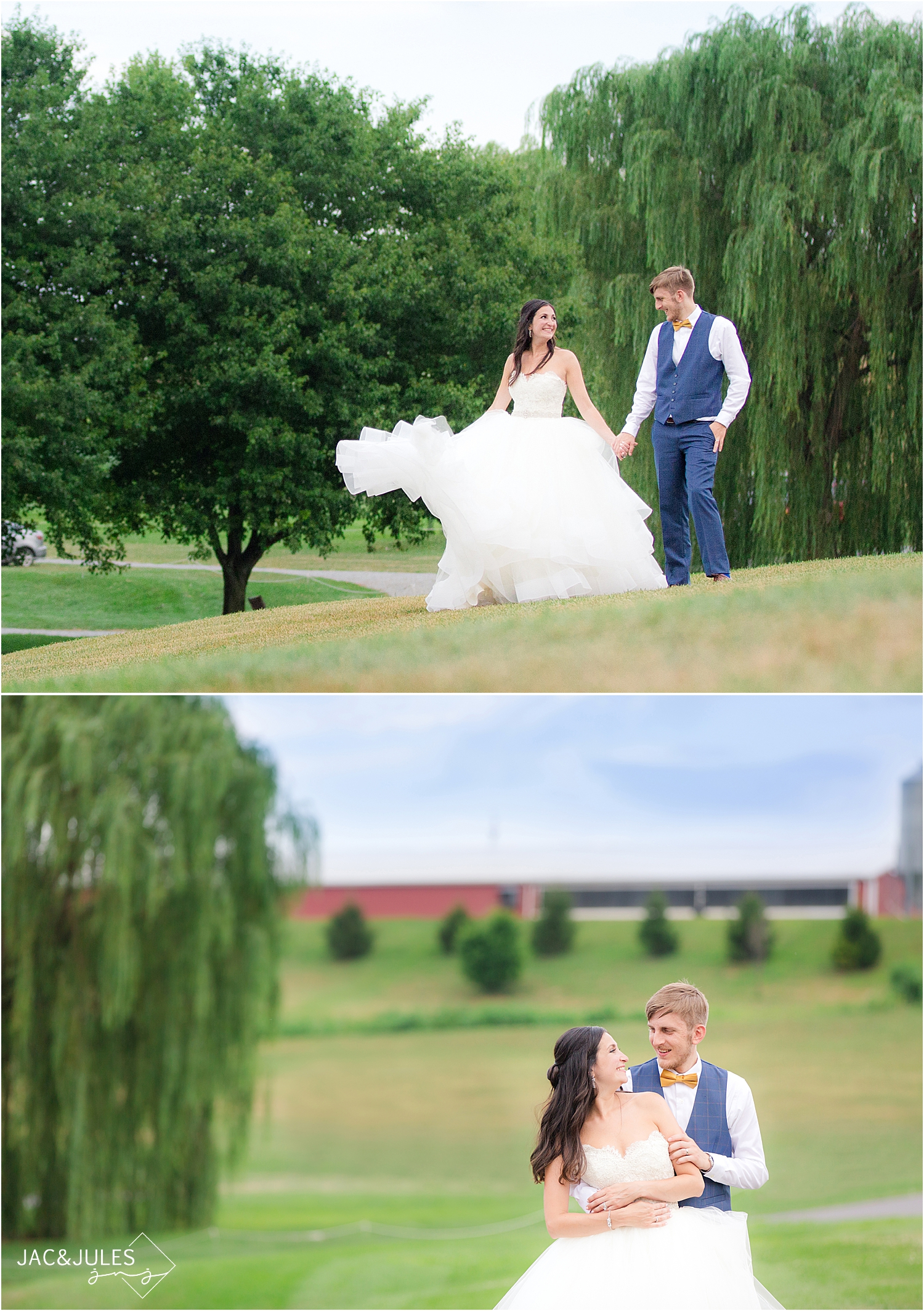Farm at Eagles Ridge in Lancaster PA wedding photo