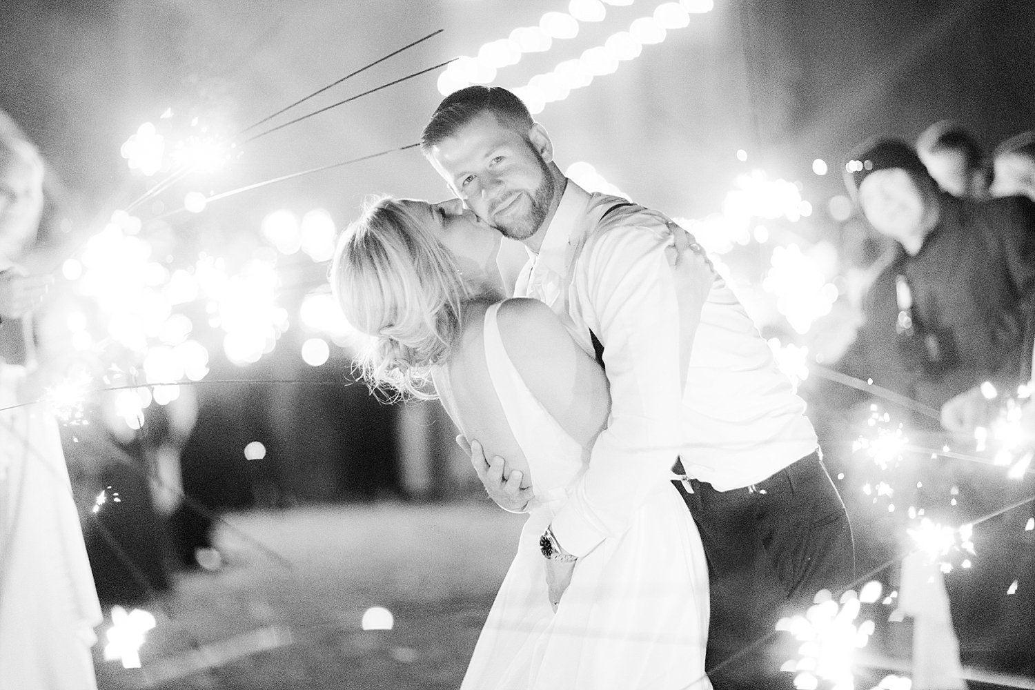 sparkler photo without flash by jacnjules at Covered Bridge Barn in NY