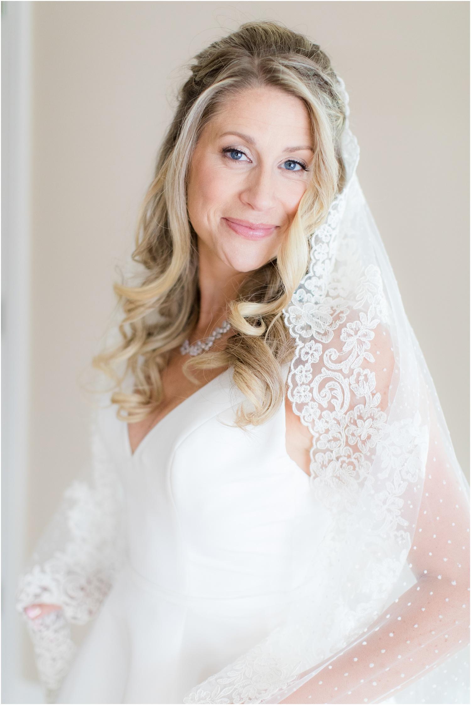 Bridal portrait in Spring Lake, NJ.
