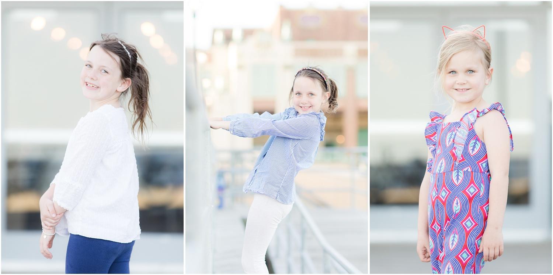 kids headshot photos on the boardwalk in Asbury Park.