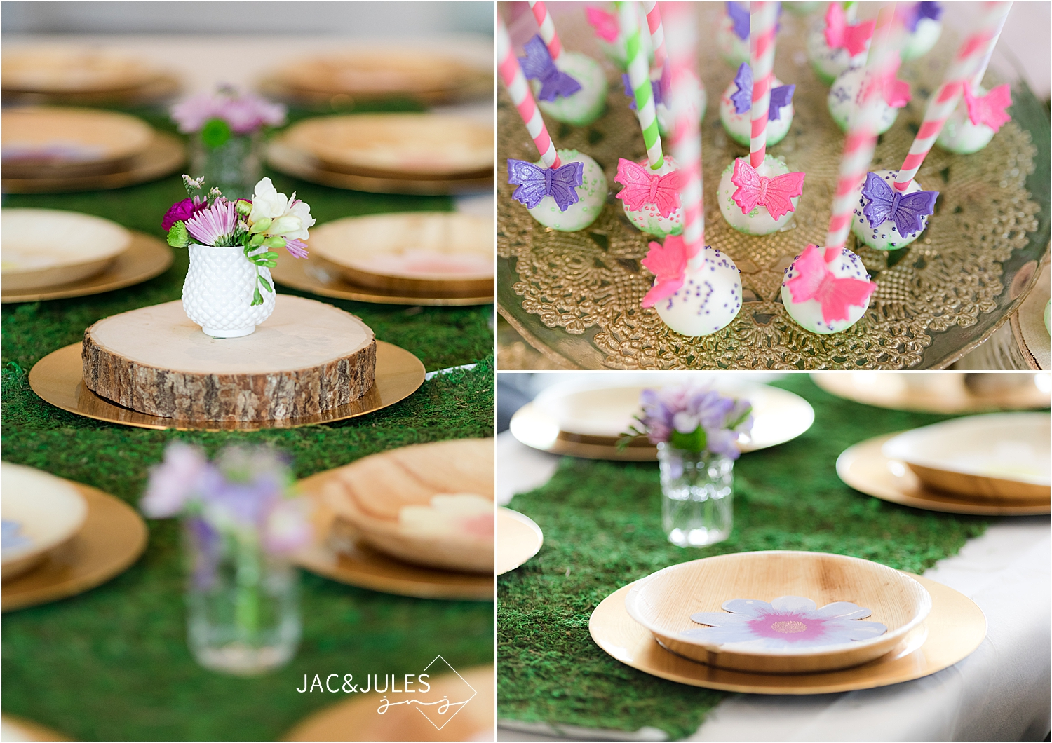 fairy themed birthday party decor