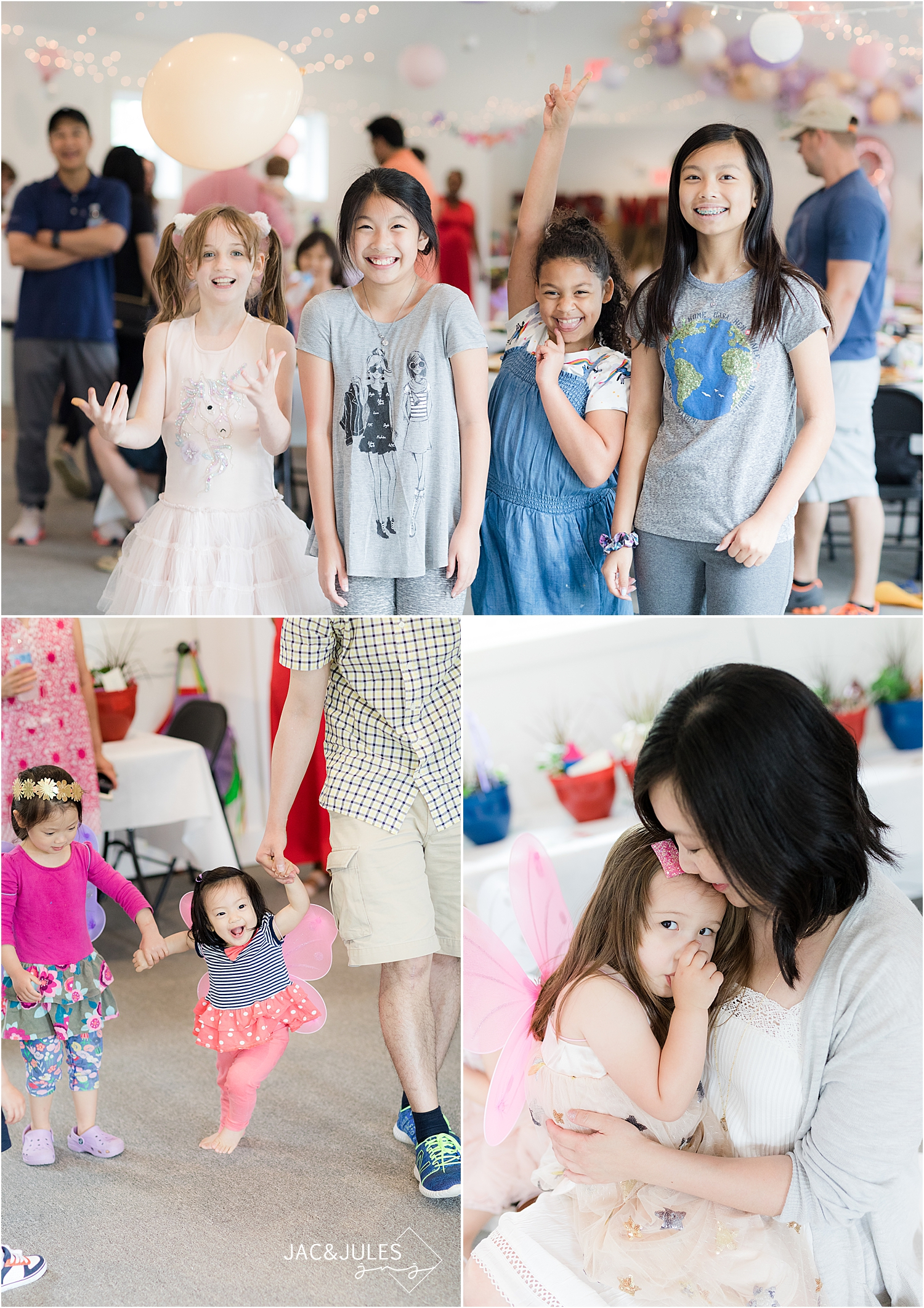 fun birthday party at toys with love with fairy theme