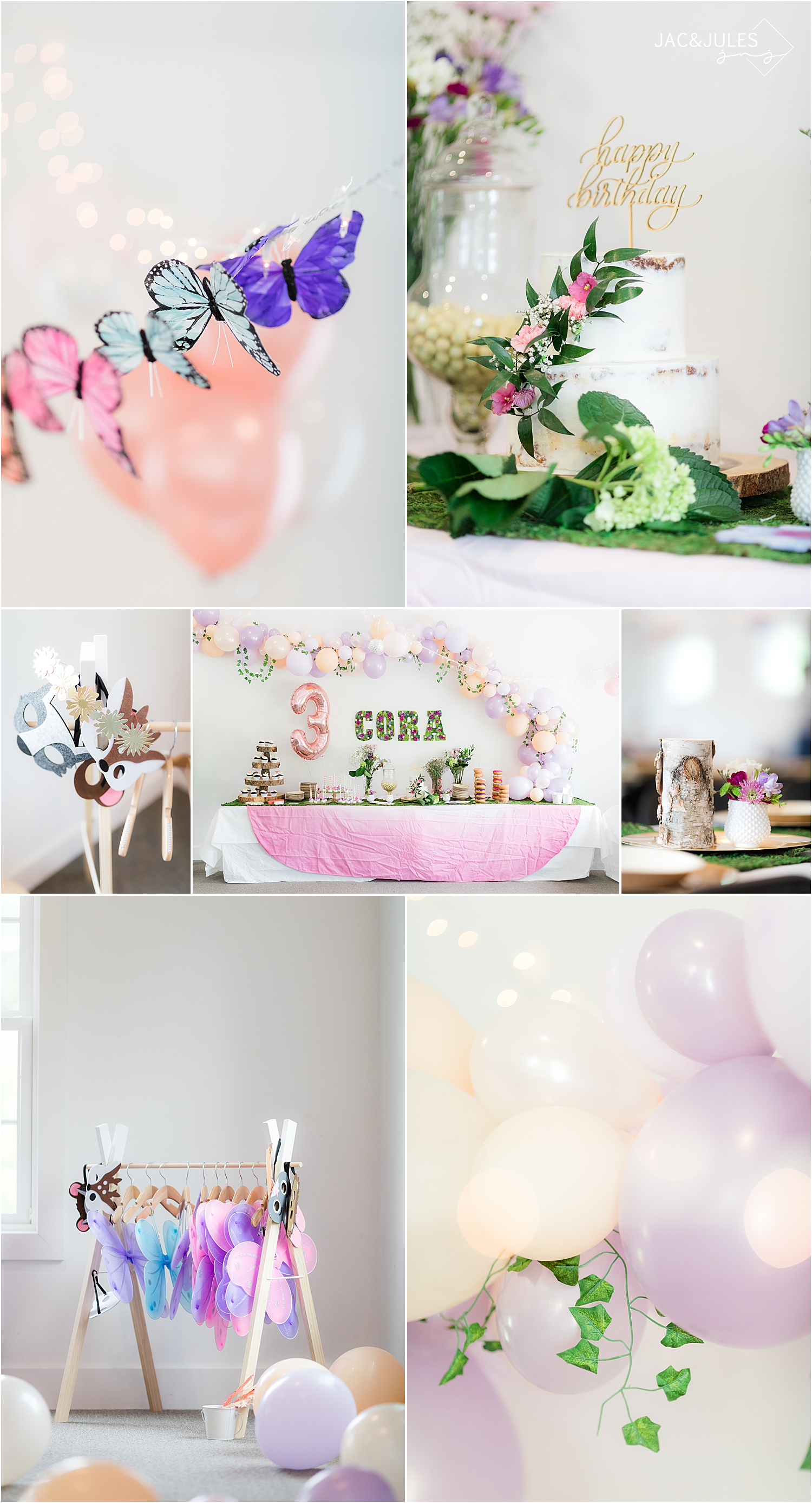 fairy themed birthday party decor ideas