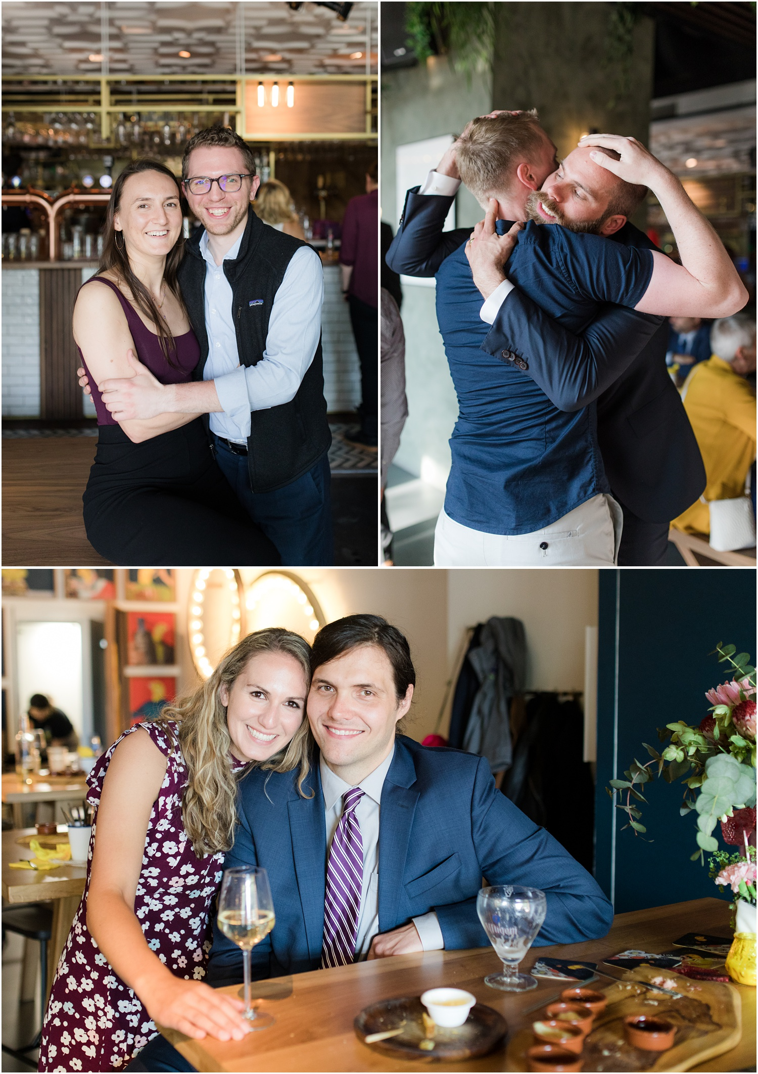 fun wedding reception photos at De Gele Kenarie in Rotterdam.