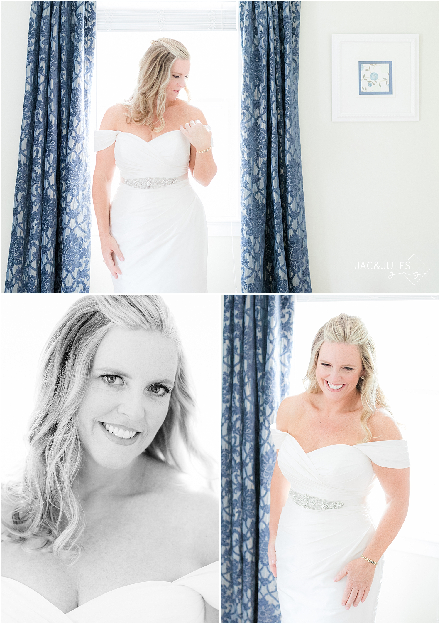 bridal portraits in bay head new jersey