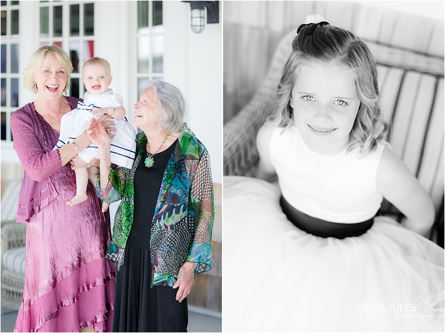 generations photo at bay head yacht club wedding