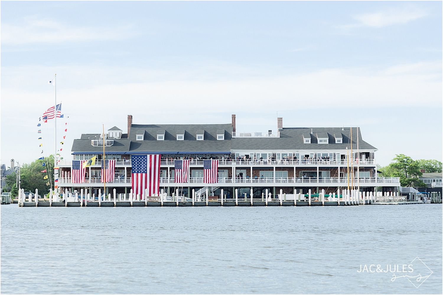 bay head yacht club wedding venue, coastal waterfront wedding venue in new jersey