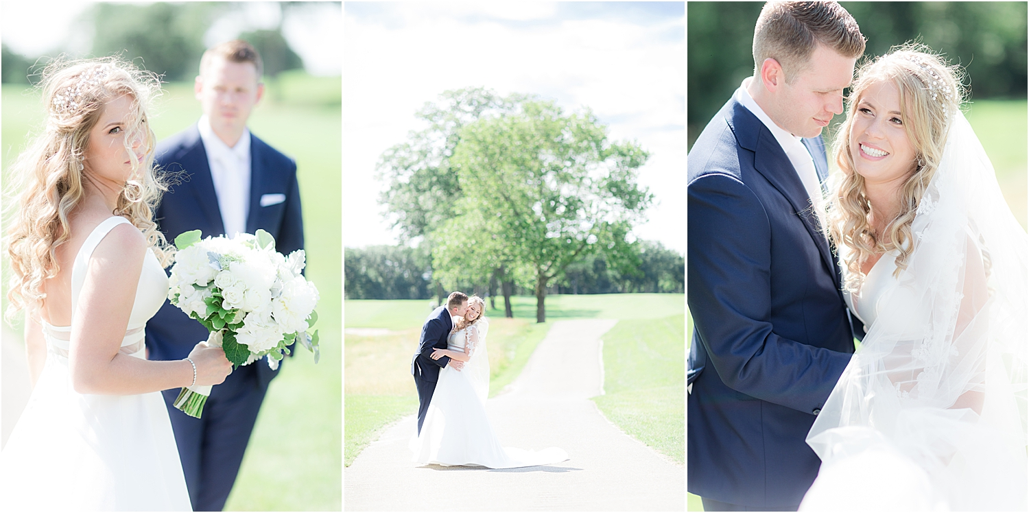 natural light wedding photos at north jersey country club