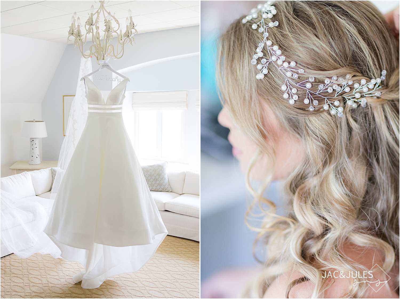 sweet hair peace wedding style