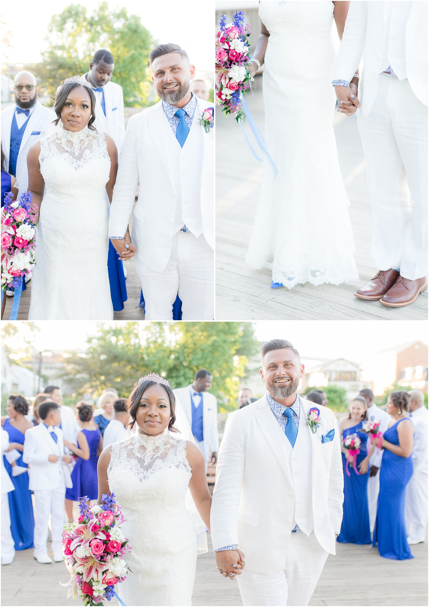 Bride and groom photos in Chesapeake City, MD.