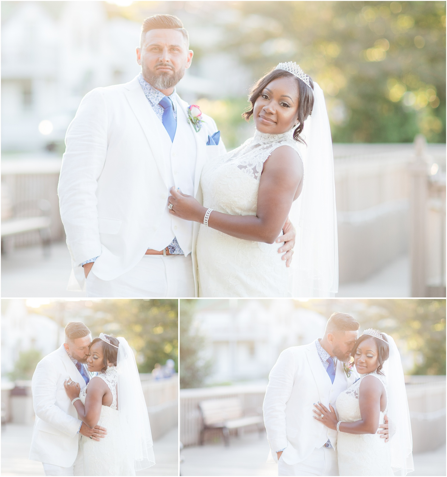 Romantic Bride and groom photos in Chesapeake City, MD.