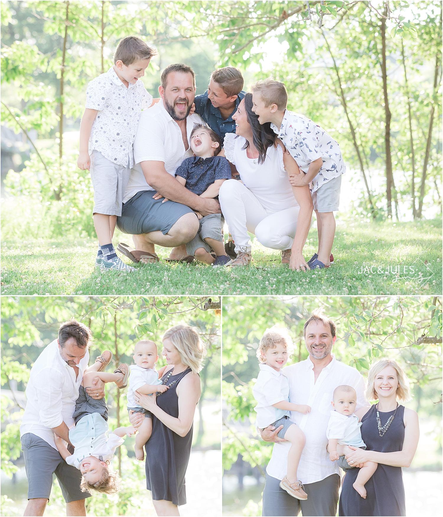 fun family photos in spring lake nj
