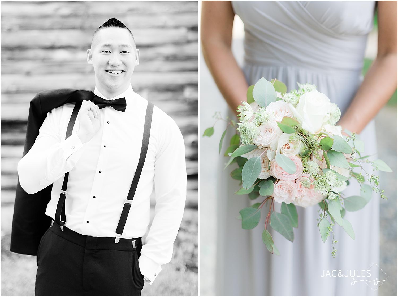 natural light wedding photos at Skyview Golf Club