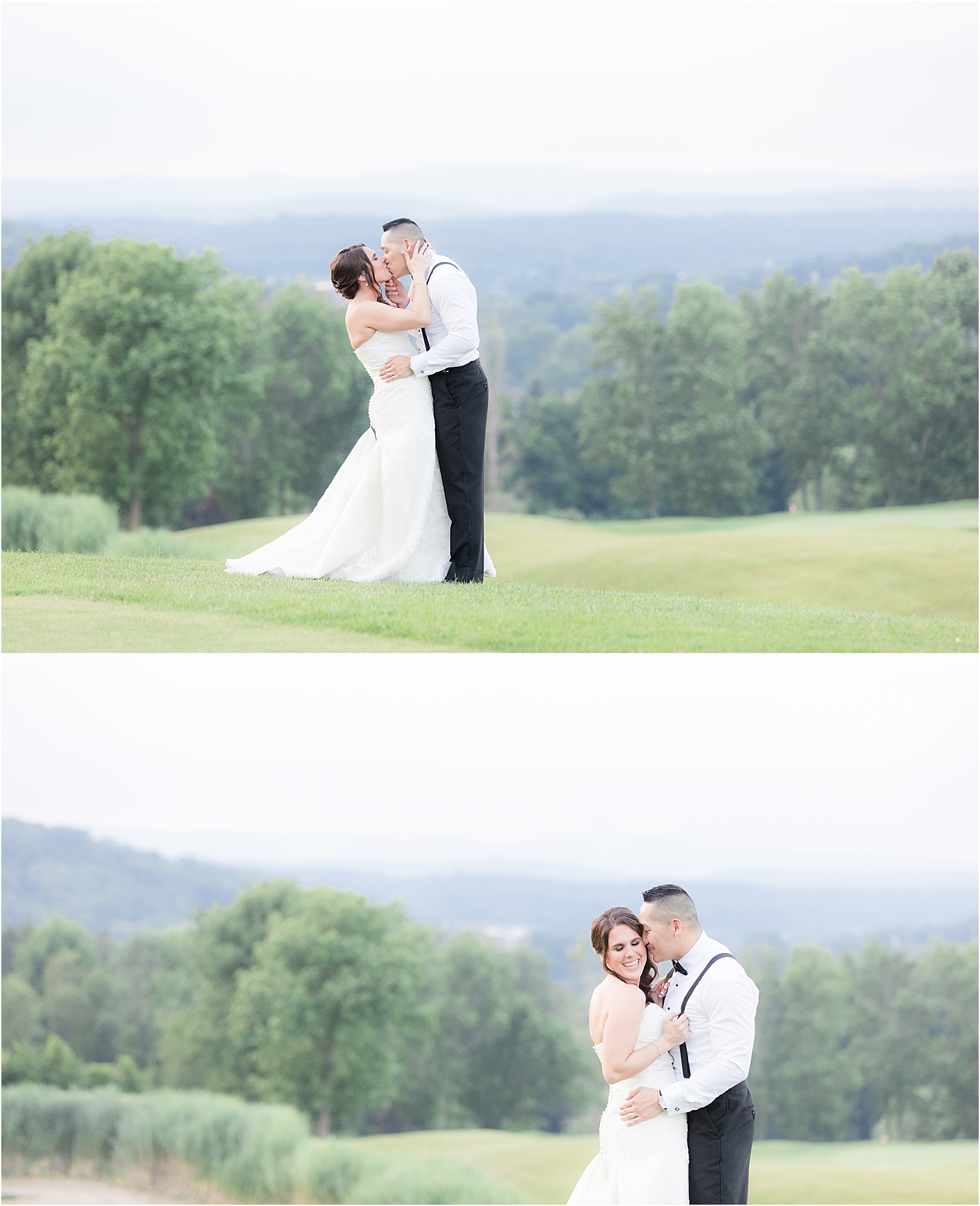romantic sunset photos in natural light at Skyview Golf Club