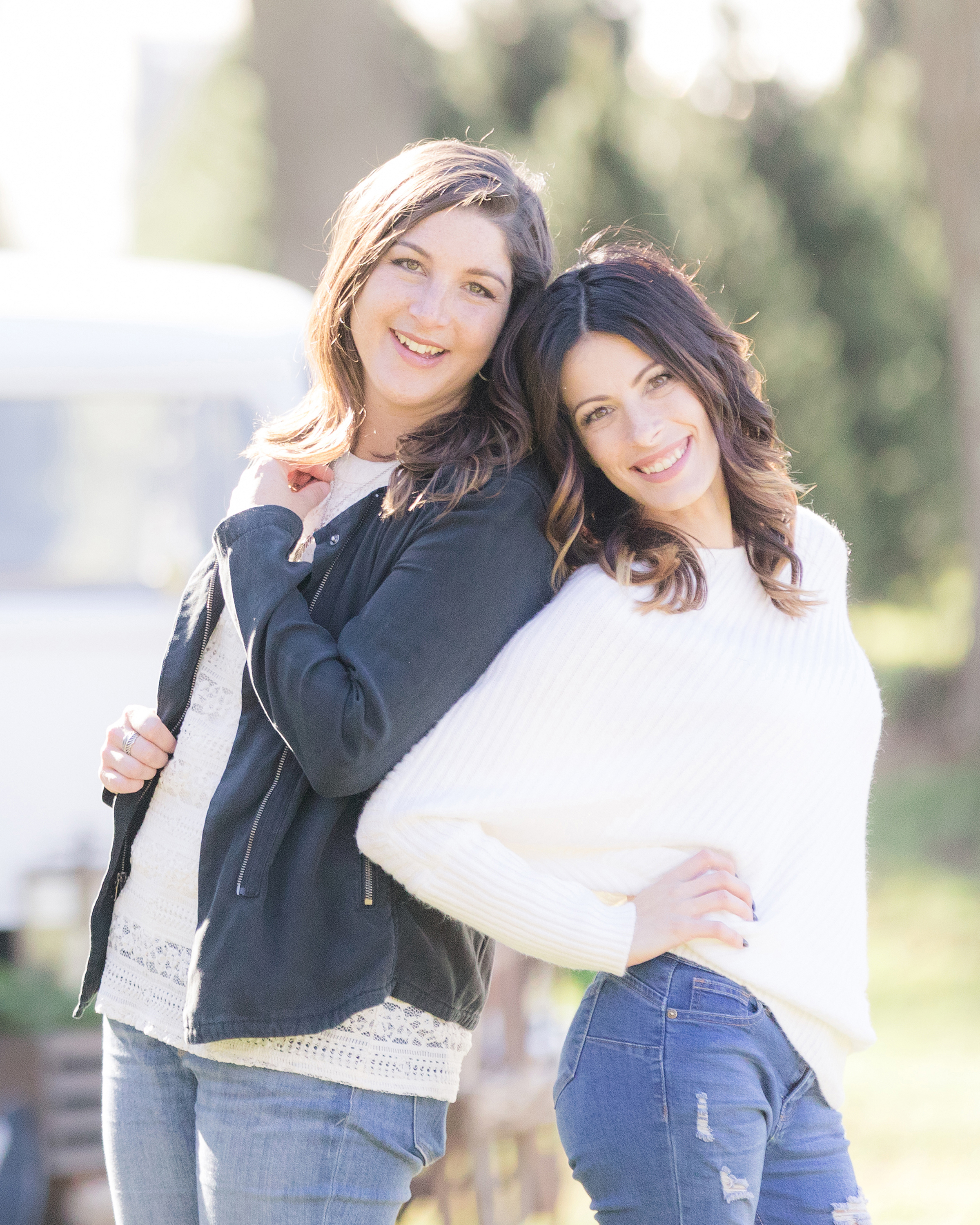 Meet your photographers - Jacqui and Julia are lifestyle photographers specializing in wedding and family photography. We love to utilize natural light for a look that's fresh, timeless and truest to you!