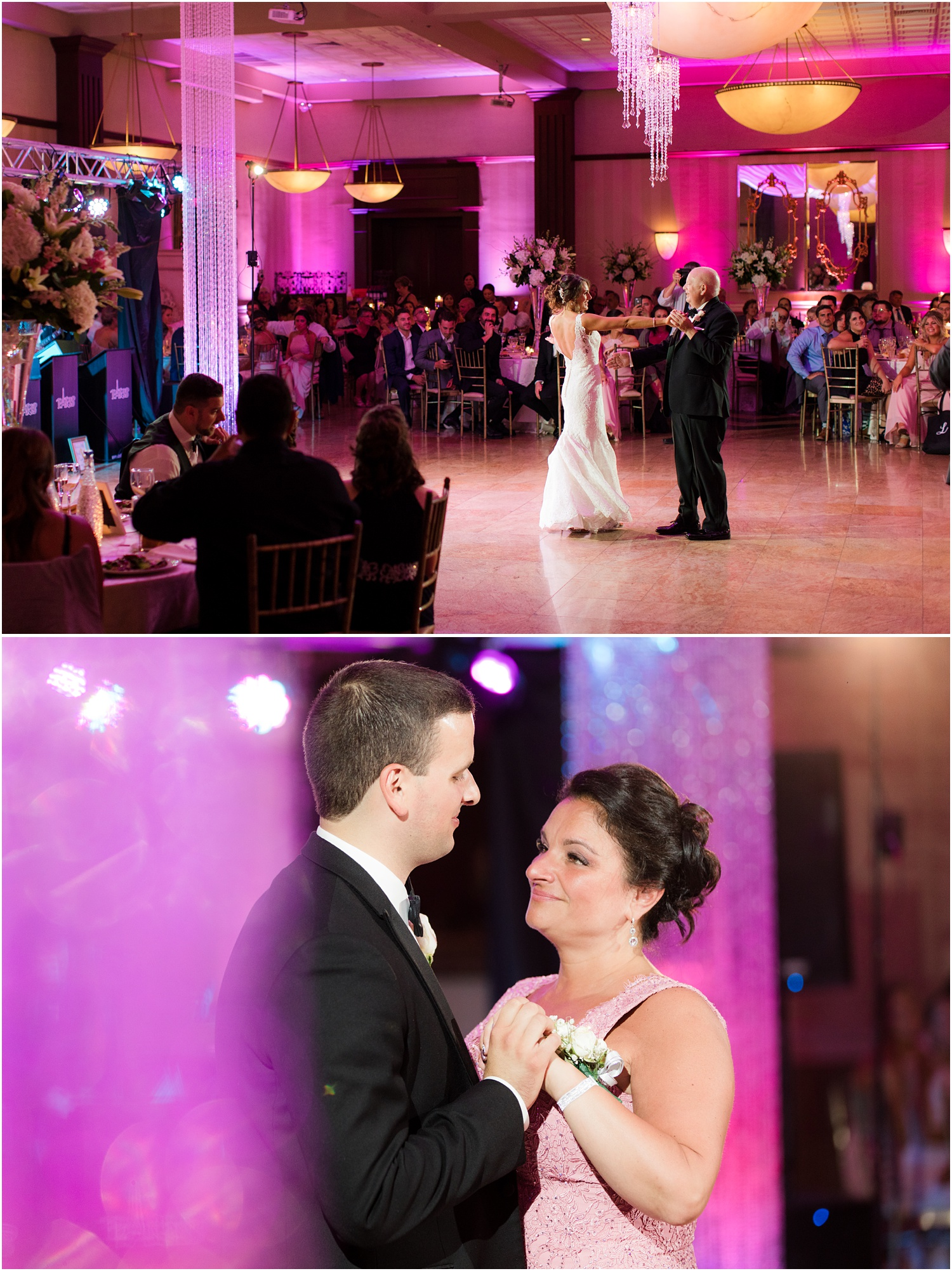 parent dances at South Gate Manor wedding in Freehold.