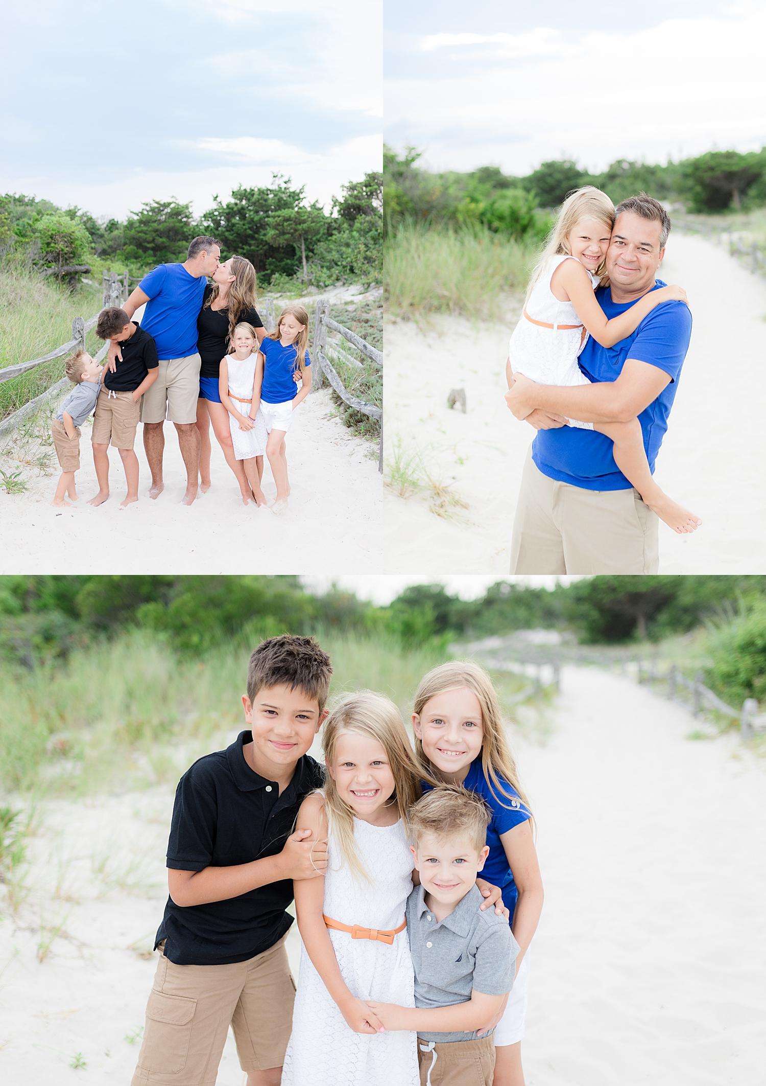 jersey shore family beach photo portrait
