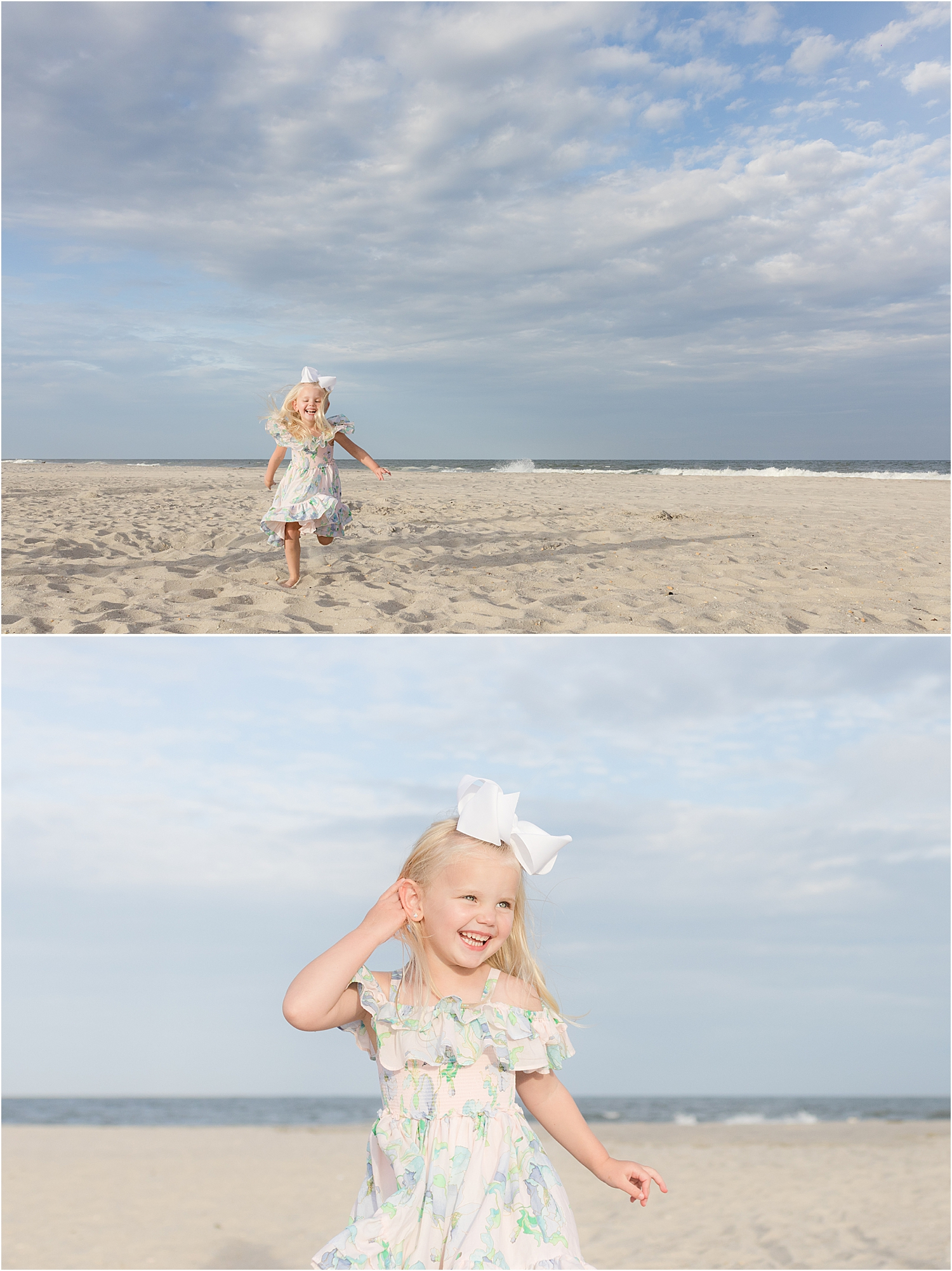 natural photo of child in Lavallette NJ