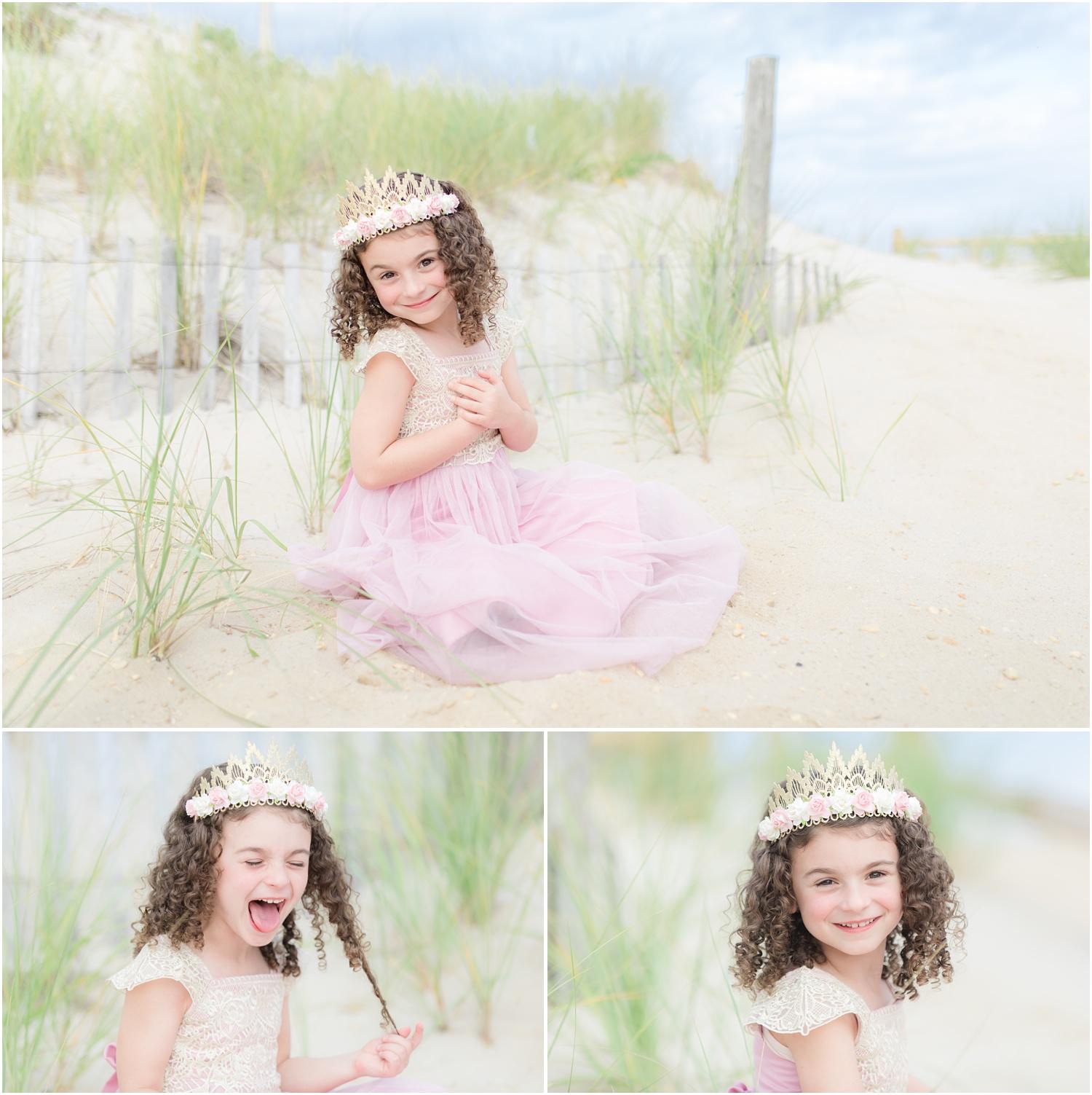 birthday photos on the beach in Lavallette, NJ.