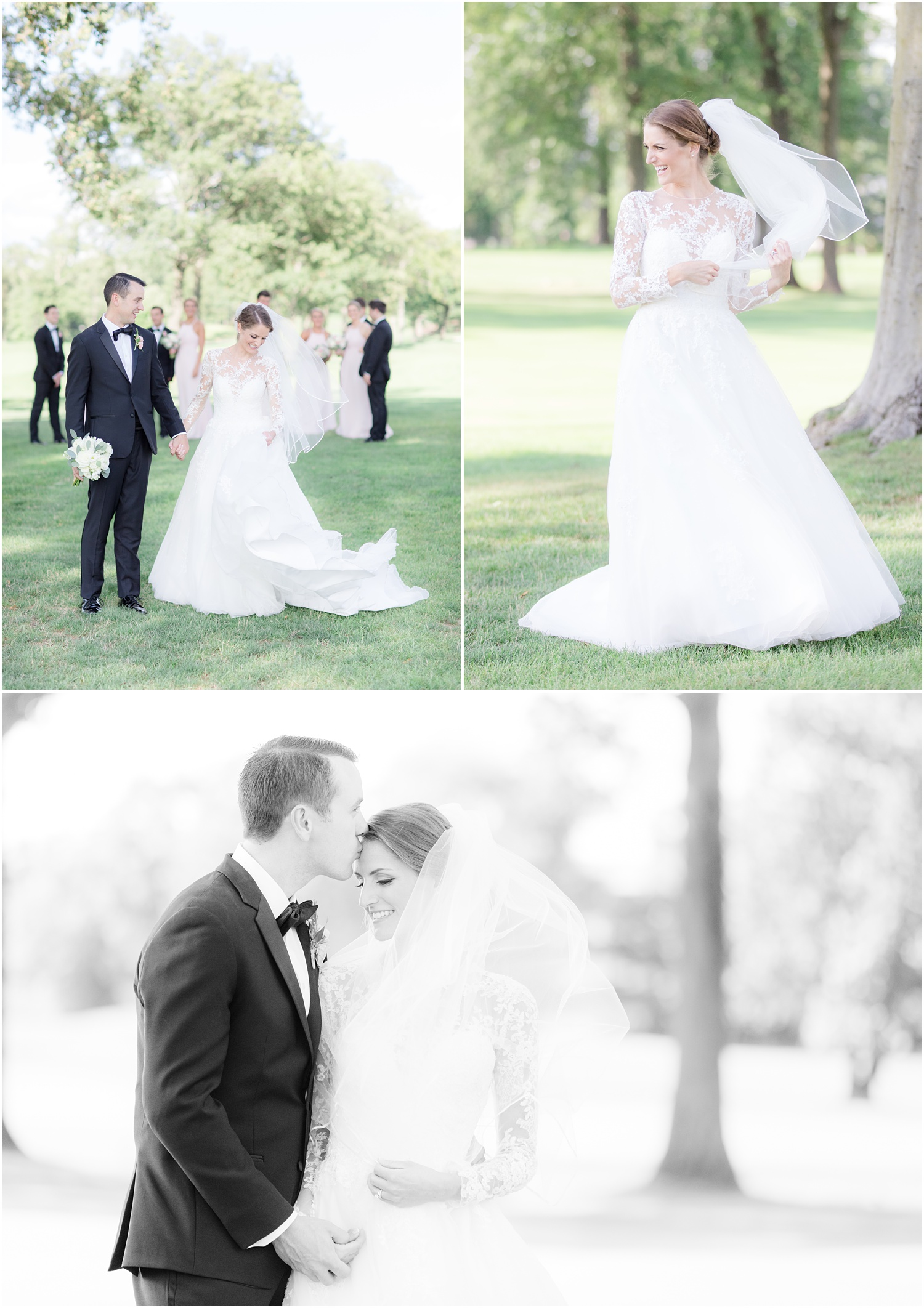Candid wedding photos at Canoe Brook Country Club