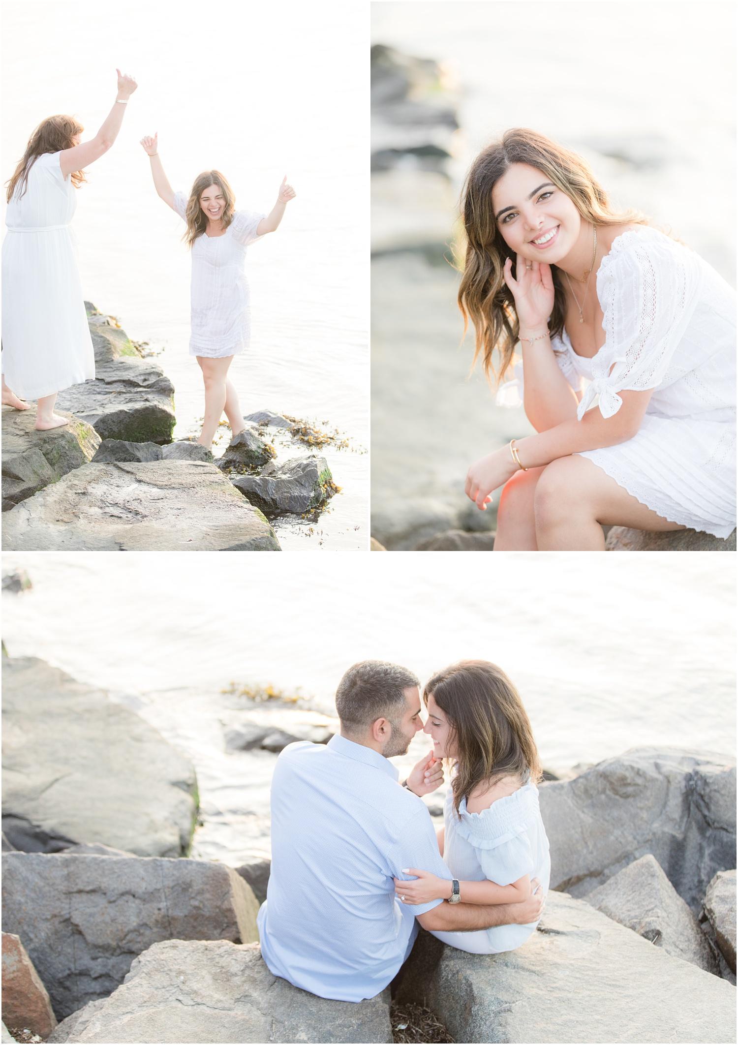 Romantic engagement photos in LBI NJ
