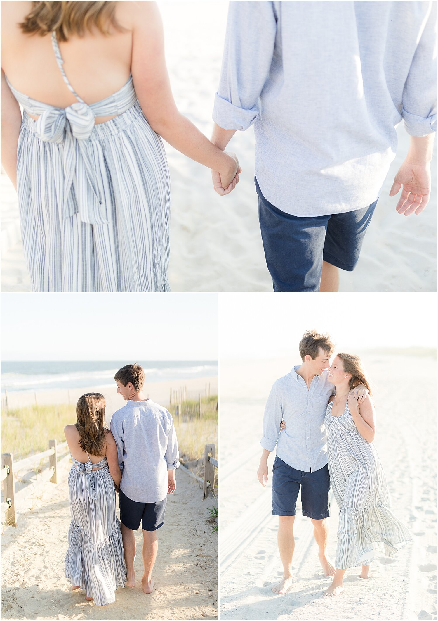 beach haven engagement photos