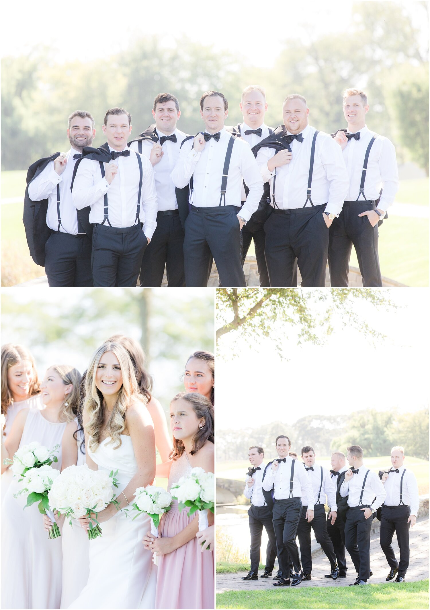 candid photos for bridesmaids and groomsmen.