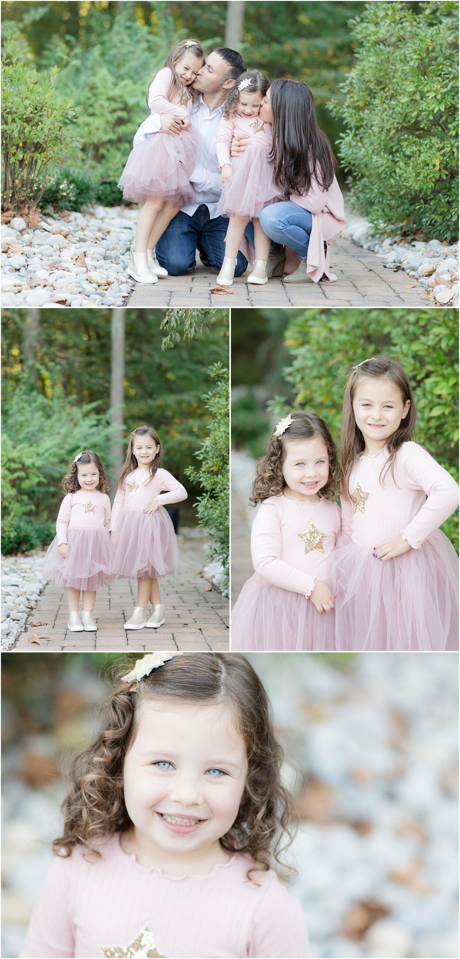 Family photos at a park in Hamilton, NJ.