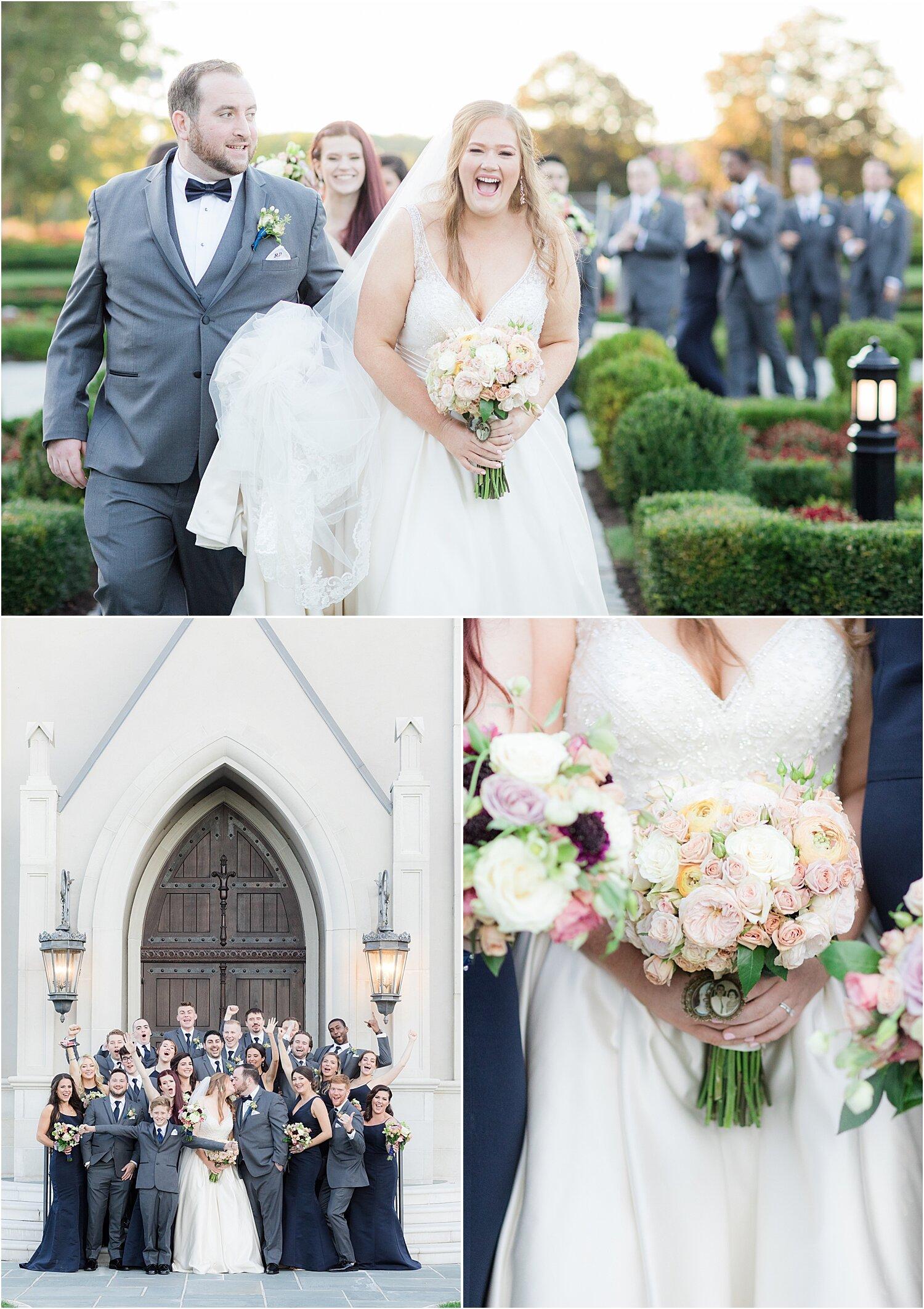 park chateau bridal party photos