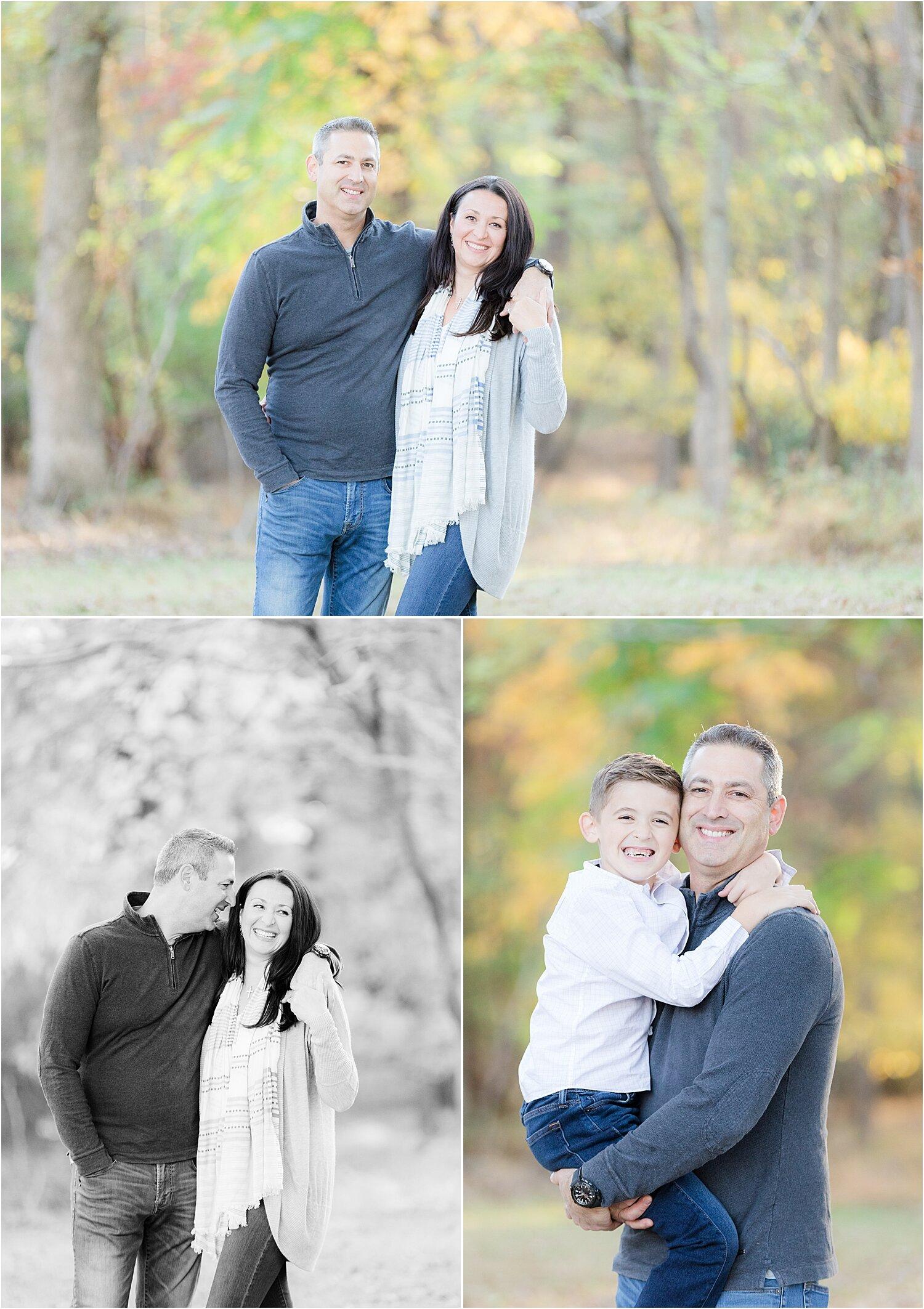 nj fall family photo