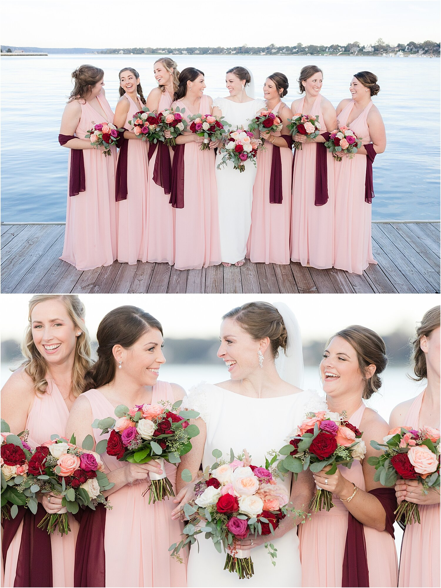 fall wedding photos at oyster point hotel in red bank nj