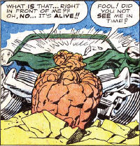 Fantastic Four #1, page 5, panel 1